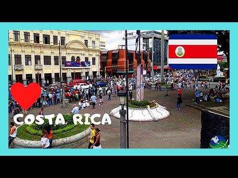 COSTA RICA, walking along main SHOPPING AREA (CENTRAL AVENUE) in SAN JOSE