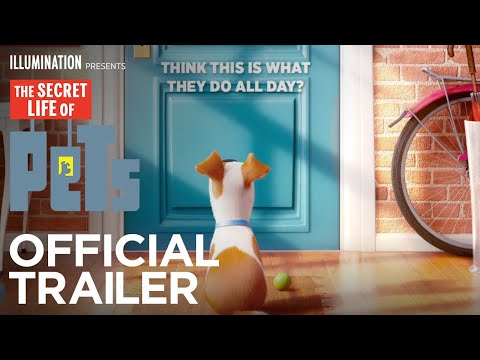 The Secret Life Of Pets - Official Teaser Trailer (HD) - Illumination Mp3
