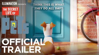 Baixar - The Secret Life Of Pets Official Teaser Trailer Hd Illumination Grátis