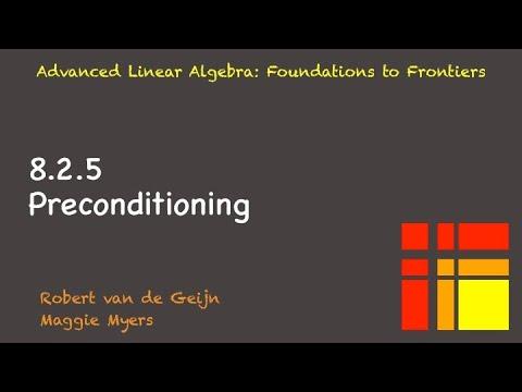 8.2.5 Preconditioning