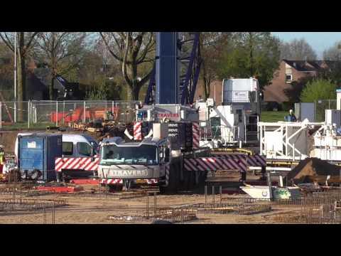 Oostflank Wijchen dl 38 / opbouw torenkraan STK Stravers 2/4