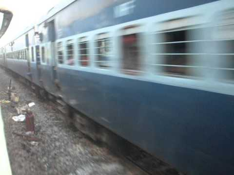 Crossing Guwahati Ernakulam Express  At High Speed