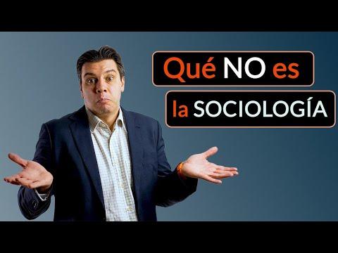 Qué NO es la Sociología