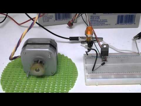 How to run a stepper motor without a driver funnydog tv for How to run stepper motor without driver
