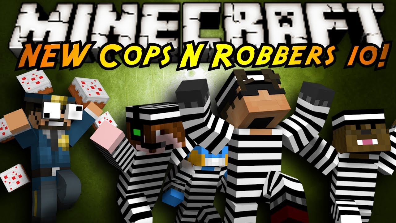 Minecraft Mini-Game : THE NEW COPS N ROBBERS ROUND 10