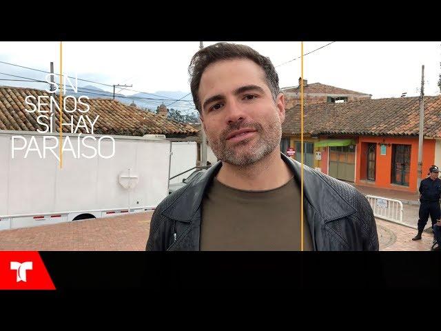 Sin Senos Si Hay Paraíso 3 | Roberto Manrique conoce muy bien a Carmen Villalobos | Telemundo