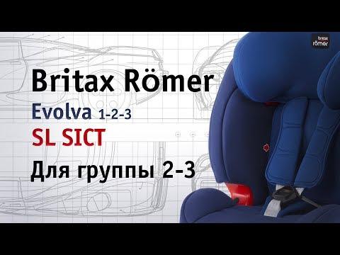 Britax Römer Evolva 1-2-3 SL SICT | как перевести в группу 2-3 | инструкция Автодети