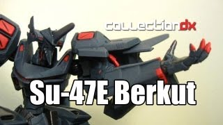 Muv-Luv Alternative Total Eclipse Volks A3 Su-47E Berkut CollectionDX Toy Review - CollectionDX