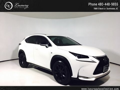 Lexus 200t F Sport >> 4126 | 2015 Lexus NX 200t F Sport | Navigation | Rear Camera | Scottsdale, AZ - YouTube