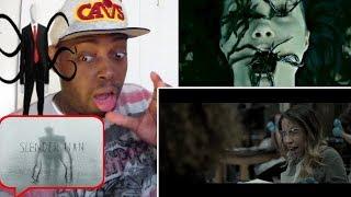 Slender Man Official Trailer #1 Horror Movie REACTION!!!