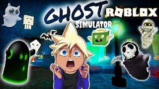 CHIPMUNK HUNTING GHOSTS IN ROBLOX | Chipmunk Plays Roblox