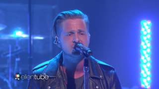 OneRepublic Let S Hurt Tonight Ellen