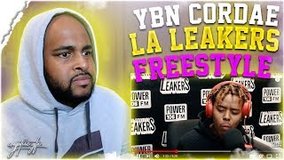 YBN Cordae Freestyle w/ The L.A. Leakers | REACTION | THIS MAN IS JUST TOO GOOD !!