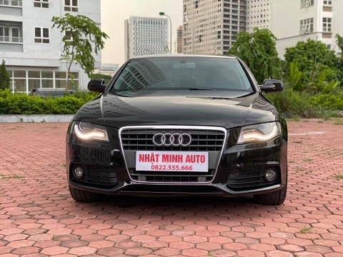 Audi A4 sản xuất 2010   máy i4 - 1.8L   cần bán liên hệ 0822555666