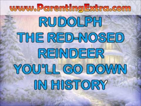 Rudolph the red nosed reindeer karaoke - modern christmas karaoke videos