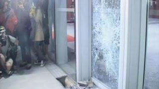 Raw: Clashes Outside Hong Kong Legislature