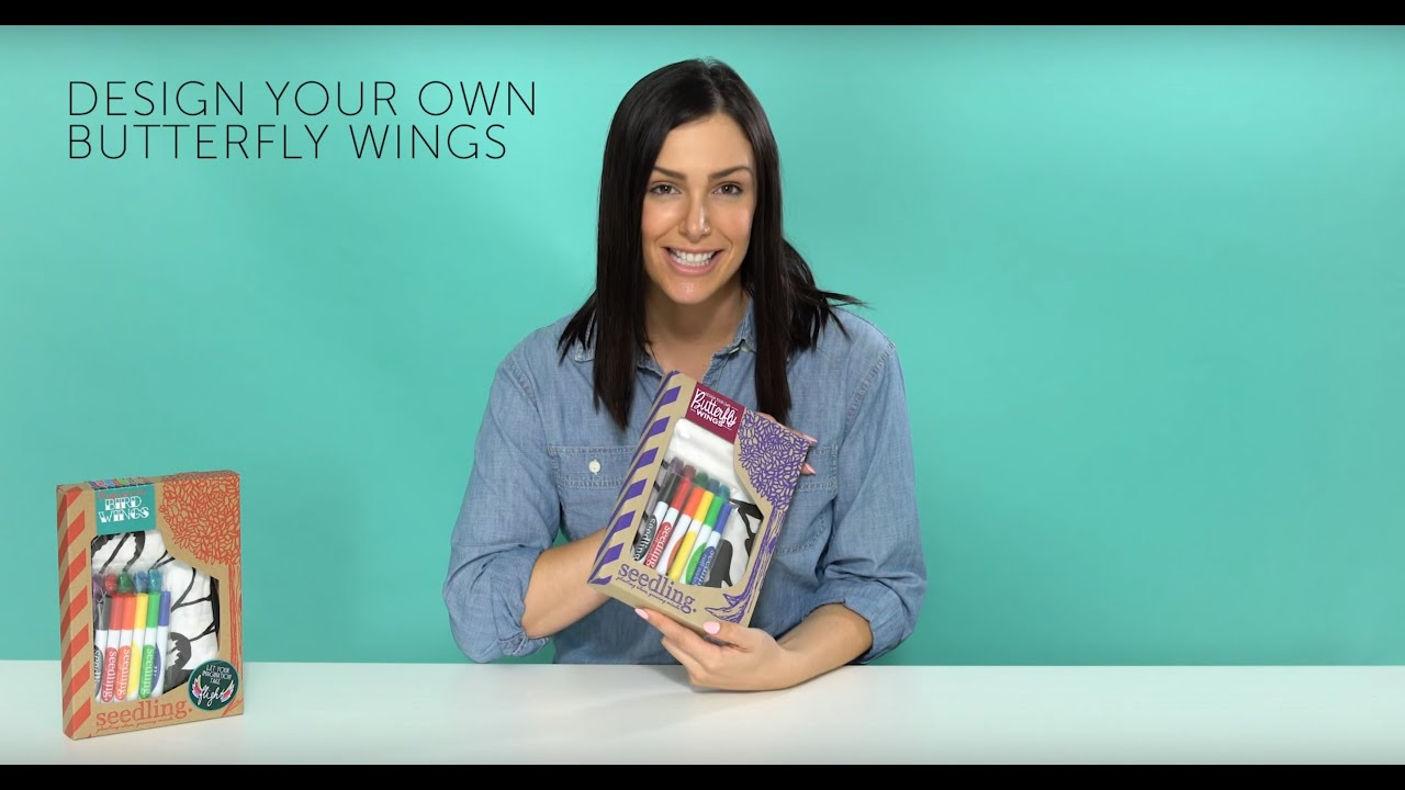 Unboxing Design Your Own Butterfly Wings Youtube