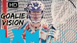 How to be a Lax Goalie: LXM Pro Helmet Cam