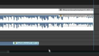 """Fade Audio with Keyframes, Adobe Premiere Pro CC"""