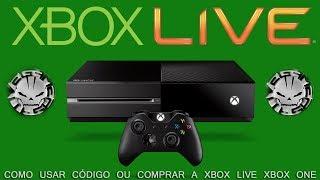 XBOX ONE - LIVE GOLD - COMO USAR CÓDIGO / COMO COMPRAR (Português BR)