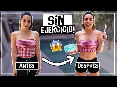 CÓMO PERDER PESO SIN DIETA NI EJERCICIO | What The Chic