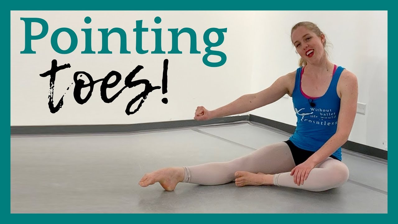 Pointing Toes Without Curling! | Broche