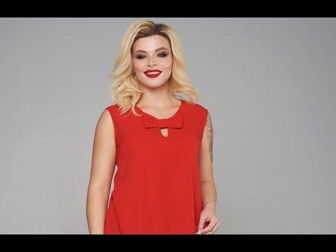 Блузка Мари-Лайн 1885 красный