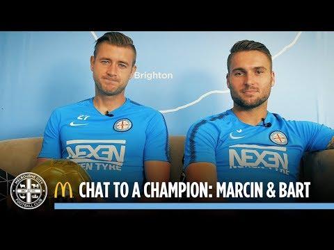 McDonalds Chat to a Champion: Marcin Budzinski and Bart Schenkeveld