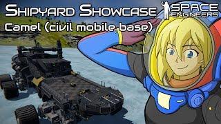 It drives like a dream   Camel (civil mobile base)   Space Engineers Shipyard Showcase