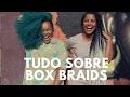 Tudo sobre BOX BRAIDS  part -  DIVA GREEN -  Débora Luz