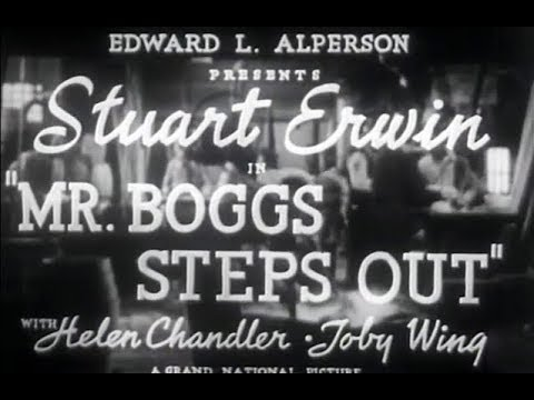 Comedy Movie Mr Boggs Steps Out 1938