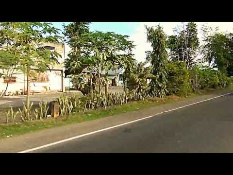 Driving in southeast Asia Bataan peninsula