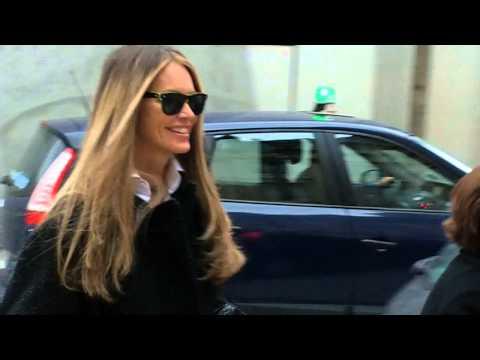 ELLE MACPHERSON Paris Fashion Week 2014 défilé SCHIAPARELLI le 20 janvier 2014