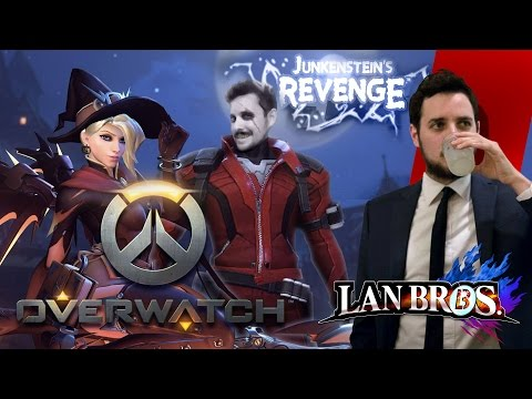 Overwatch: Junkenstein's Revenge with LAN Bro Dan