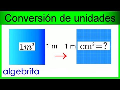 Convertir metros cuadrados a cent metros cuadrados m2 a cm2 conversi n de unidades de rea 417 - Pasar de metros a metros cuadrados ...