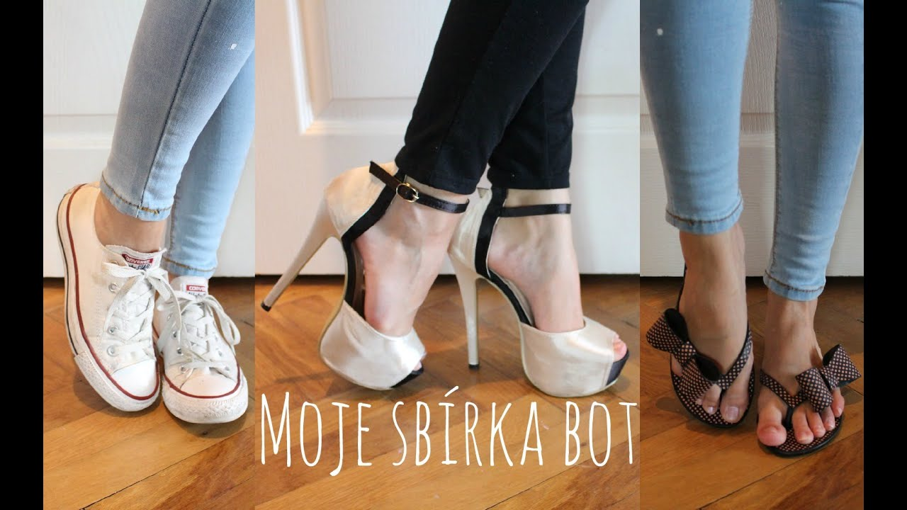 eb67133244f4 Moje sbírka bot   My Shoe Collection - YouTube