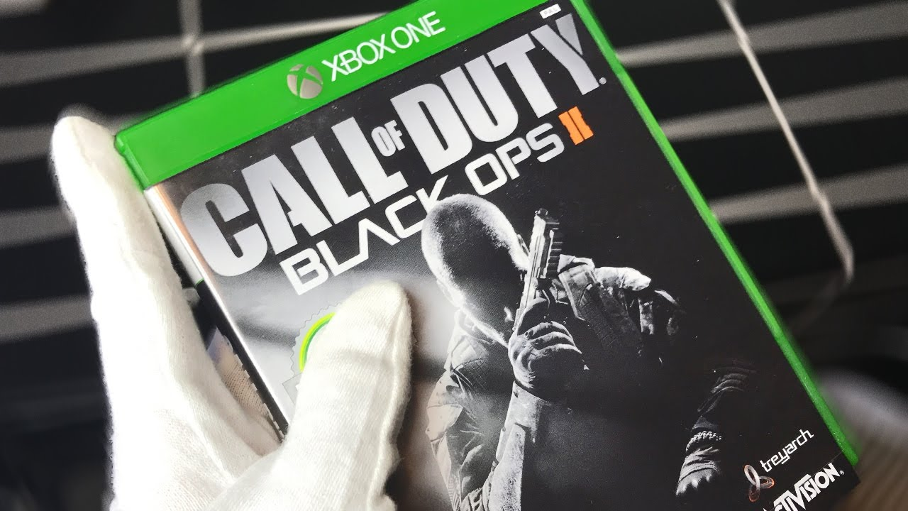 Xbox One Call Of Duty Black Ops 2 BLACK OPS 2 BACKWARDS ...