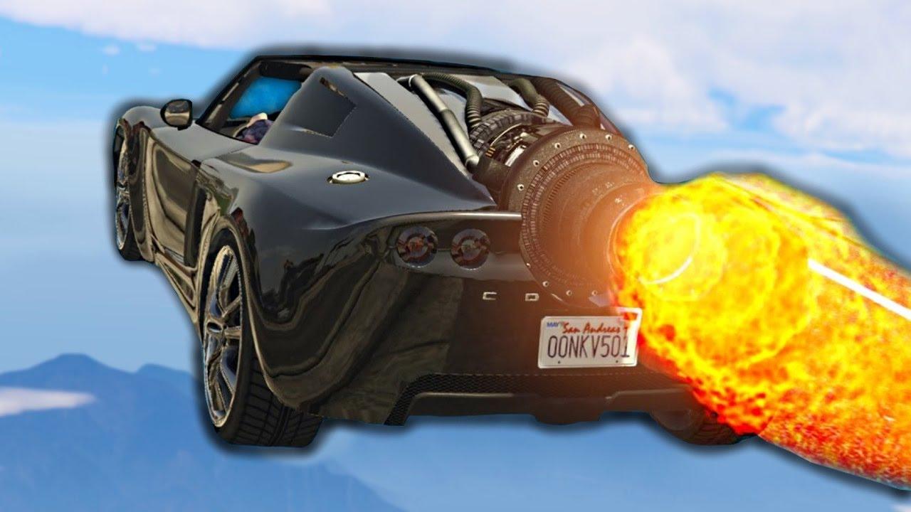 5,000,000$ İNANILMAZ ROKET ARABA! (GTA 5 Online DLC)