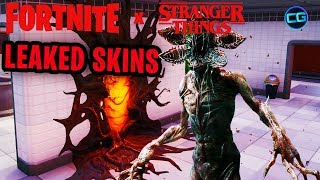 Jim Hopper & Demogorgon Skins Leaked! Fortnite X Stranger Things!