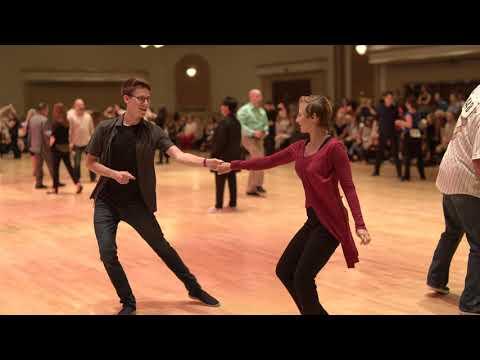 West Coast Swing | Florian Simon  + Kira Kalliomaa | Advanced JnJ Prelim - Desert City Swing 2019