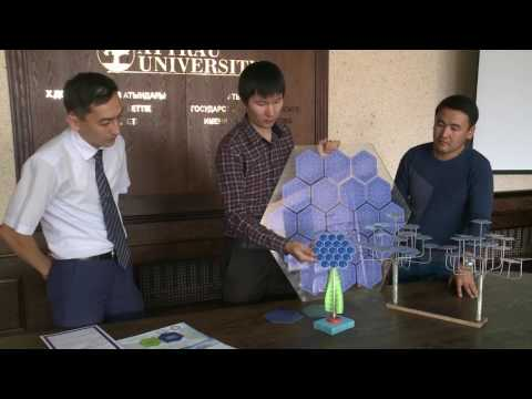 Smart Energy Tree. Made in Kazakhstan.