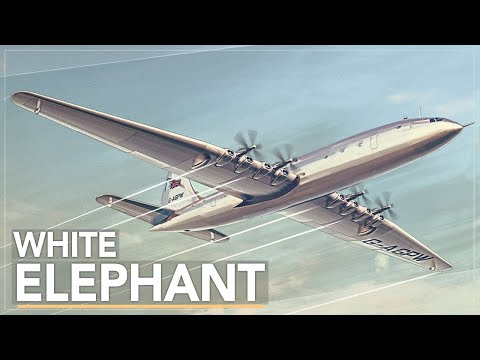 The Largest Aircraft Ever Built By Britain: The Bristol Brab