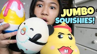 MY JUMBO SQUISHY COLLECTION!