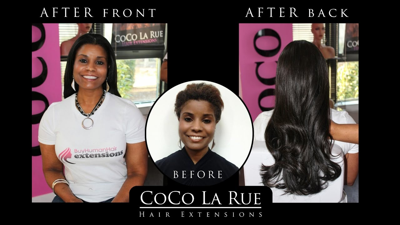 Hair Extensions Dc Before After Gallery By A List Stylist Coco La