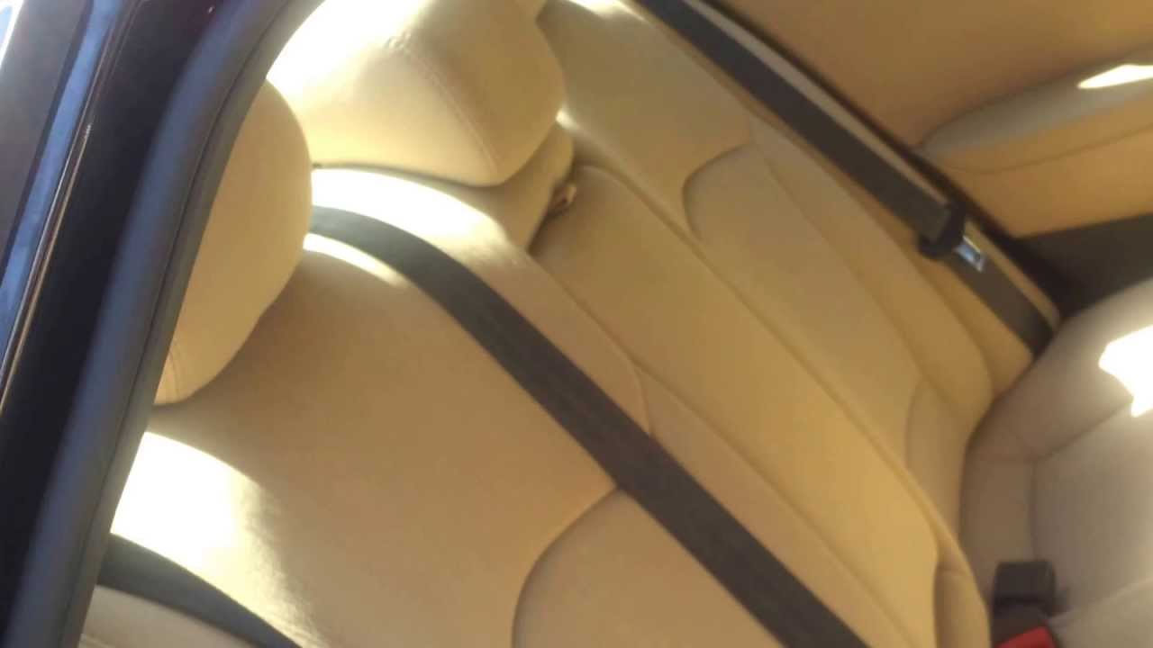 2013 Hyundai Sonata Car Rear Seat Cover Installation