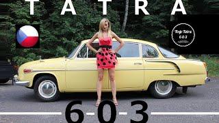 1972 Tatra 603 - (HD) Czech Girls & Reconstruction!