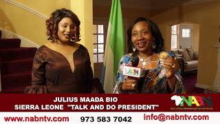 TALK AND DO PRESIDENT OF SIERRA LEONE MAADA BIO