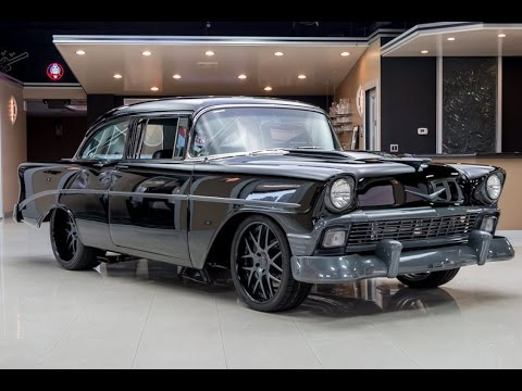 1956 Chevrolet Bel Air Restomod Twin Turbo For Sale Youtube