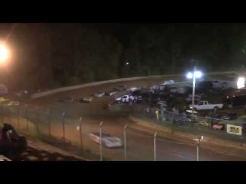 Toccoa Speedway Monster Mini's 4 Cylinder Race 5/2/14