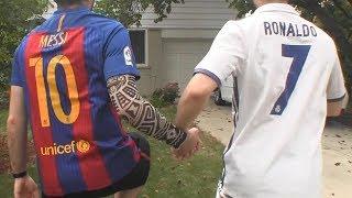 Cristiano Ronaldo vs Messi - Become Best Friends FINALE  In Real Life